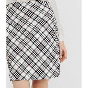 Express plaid pencil skirt