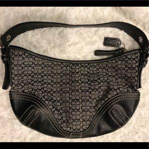 Coach small hobo purse