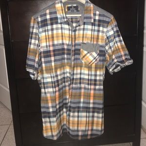 NWOT Buffalo men's short sleeve button up shirt