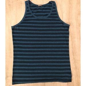 Men's Striped Tank Top
