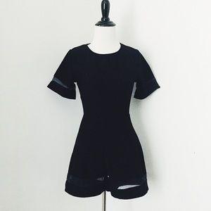 🆕Missguided Black Playsuit Romper