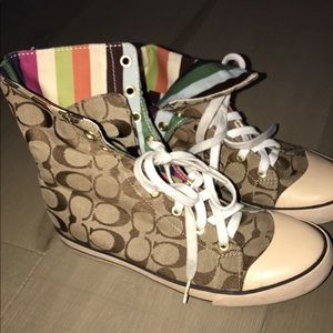 Real Coach high tops