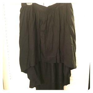 Simple hi-low skirt
