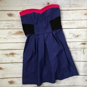 Boutique Colorblocked Dress