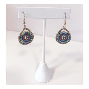 Jewelry - Dangly Multicolored Vintage Earrings