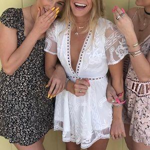 LF Black and beige sun dress