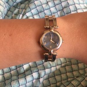 Fossil F2 Watch blue face