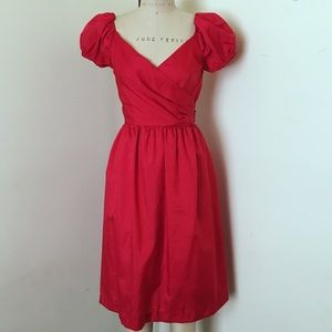 Vintage Red Sweetheart Dress