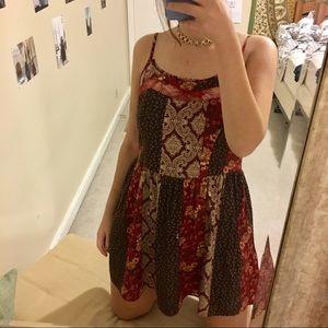 Patterned cute dress 👗