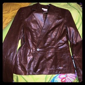 ❤️Super Sale!❤️ Worthington 100% leather jacket