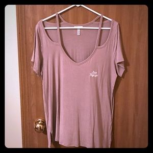 VS PINK Super Soft Tee Large