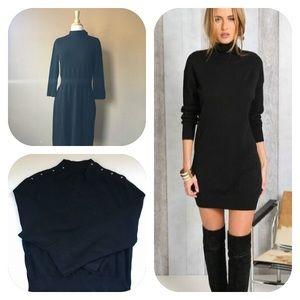 NWT White House-Black Market black knit dress,
