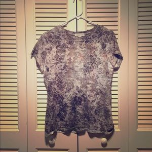 Coldwater Creek Print Tee, Size S 💝