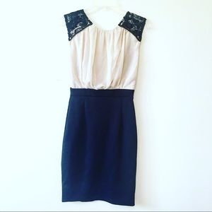 Zara Tailored Cocktail Dress