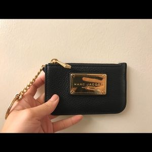 Marc Jacobs keychain coin purse pouch wallet