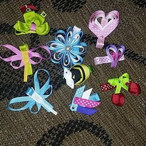Other - Small asst.hairbows NEW