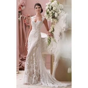 David Tutera Mon Cheri 115229 Lourdes Wedding Gown