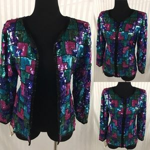 1990's Sequins Blazer