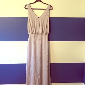 ASOS embellished maxi dress (light purple)