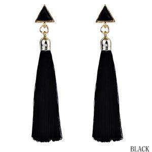 Jewelry - Bohemian Vintage Long Tassel Drop Earrings