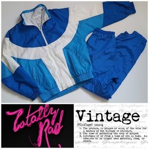 Vintage Bocoo Track Suit Wind Suit Size Small