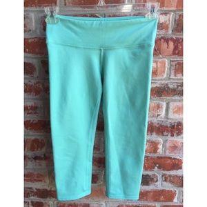 Alo Yoga Turquoise Crop Yoga Pants Small Leggings