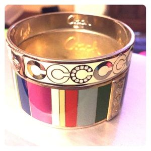 Authentic Coach Bangles, 2 for 1 Price!!
