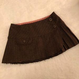 Abercrombie & Fitch wool mini skirt