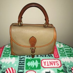 Dooney Vintage AWL Carpet Bag