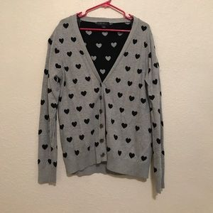 Forever 21 Plus Size heart Cardigan