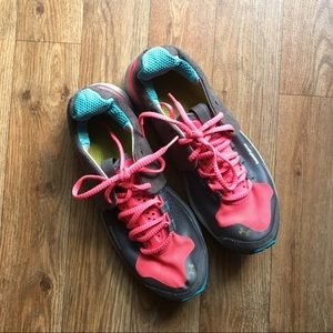 Under Armour Pink Athletic Shoes