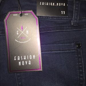 Fashion Nova Dark wash denim jeans