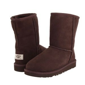 UGG Shoes - Ugg Women's Classic Short - Chocolate Brown