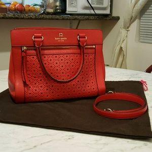 💖 Beautiful Red Kate Spade Handbag 💖