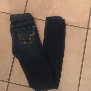 Hollister skinny jeans sz 00 cute