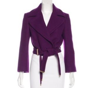 DVF Mikhaila Cropped Jacket