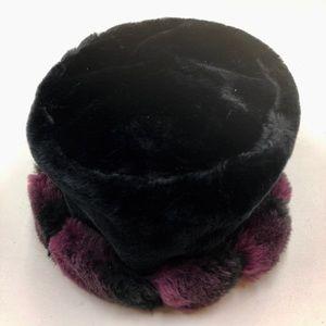 Vintage Velvet Winter Hat