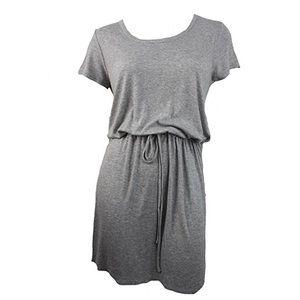 Olive + oak tie waist shirt dress