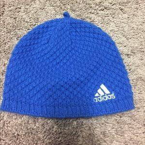Soft Blue Adidas Beanie