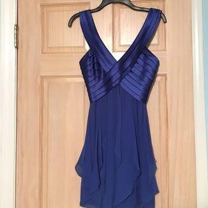 Royal Blue Flirty Party Dress