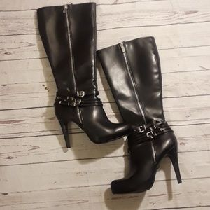 Rock and Republic knee high boots size 8.5