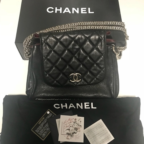 b896f3e4462131 CHANEL Bags | Bijoux Accordion Flap Quilted Lambskin | Poshmark