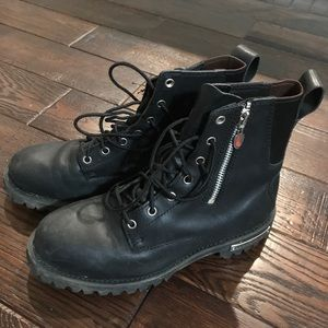 Red Wing Combat Boots size 9