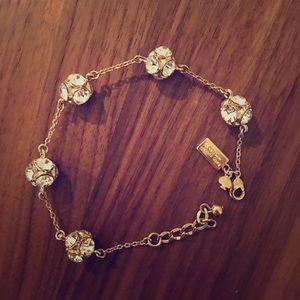Kate Spade Diamond ball bracelet