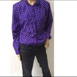 Purple Vintage Top Size 16