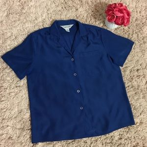 Beautiful Nordstrom Blouses Blue Top
