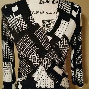 Cable & Gauge blouse sz. M