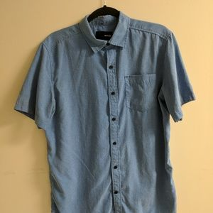 Hurley Dri-Fit Short Sleeve Button Down
