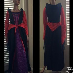Evil Queen Princess Halloween Cosplay Costume