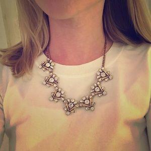 JCrew jeweled statement necklace